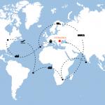 Compania ORIENT organizează transport internaţional de mărfuri rutier, feroviar, aerian sau maritim